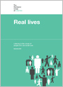 Real lives. Listening to the voices of people who use social care
