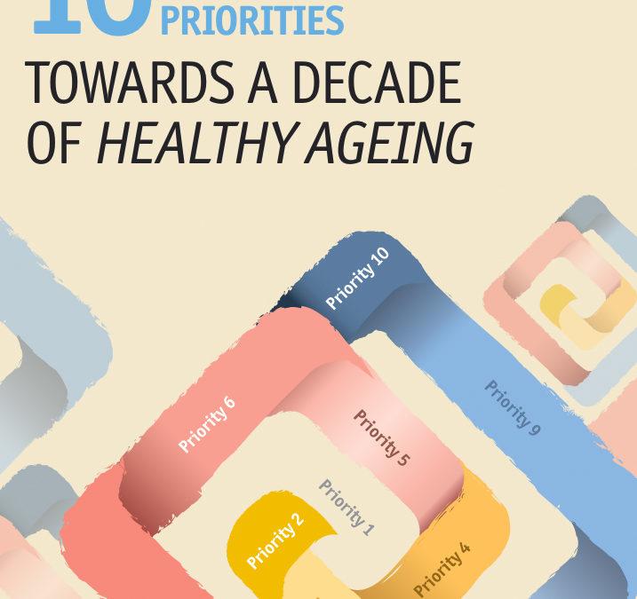 10 Prioridades de la Década del Envejecimiento Saludable 2020 / 2030