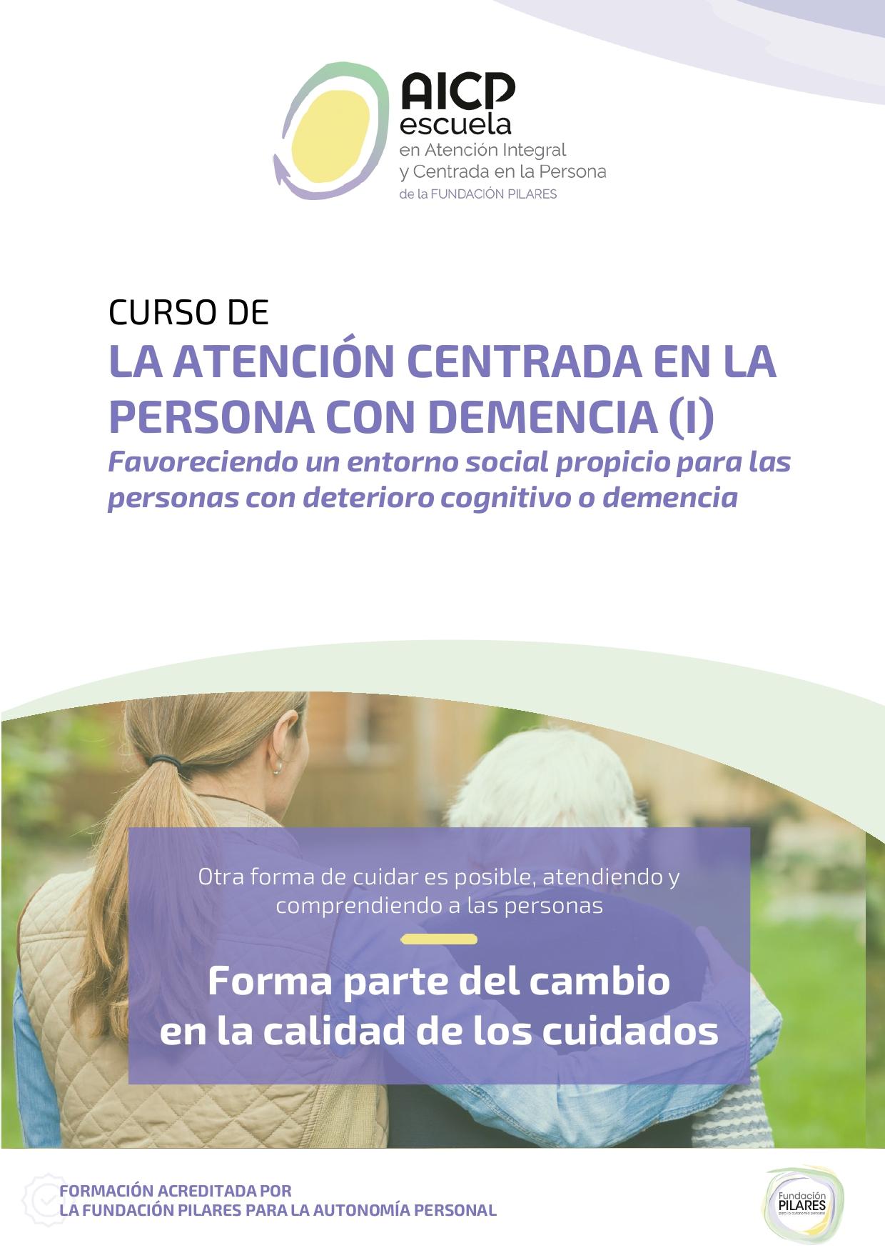 Portada Ficha Curso Demencia I page 0001